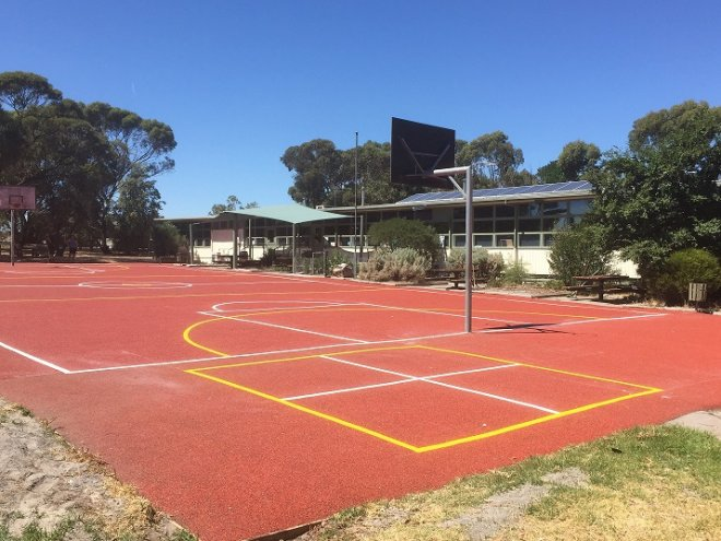 Netball_Basketball Court-Primary School_